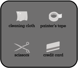 Tools for Applying Vinyl Wall Art