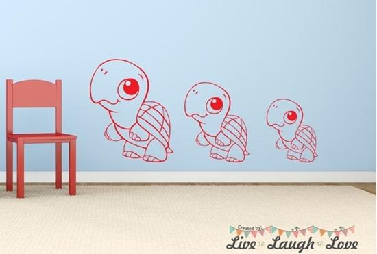 Turtle - Vinyl Wall Art