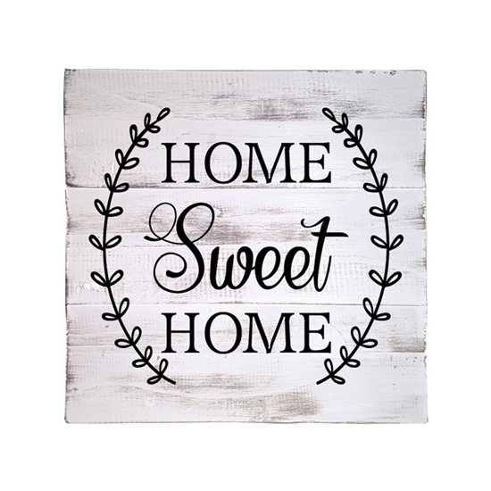 Home Sweet Home Wooden Pallet Sign