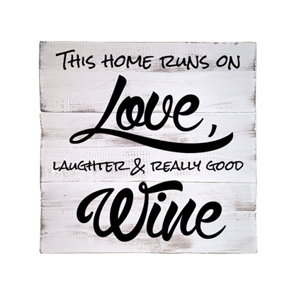 This Home Runs On Love Wooden Pallet Sign