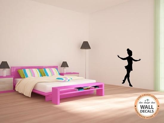 Ballerina Vinyl Wall Art