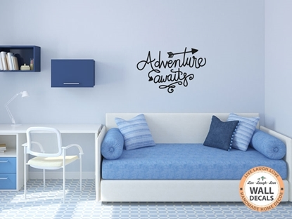 Adventure Awaits Vinyl Wall Art