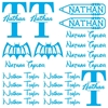 Back To School Name Tags - Boys