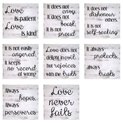 Love is .... Wooden Pallet Sign