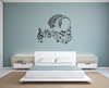 Music Keyboard Vinyl Wall Art