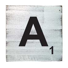 Scrabble Tile - A