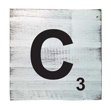 Scrabble Tile - C