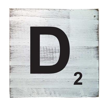 Scrabble Tile - D