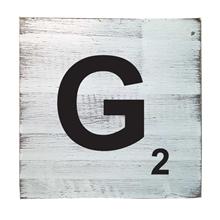 Scrabble Tile - G