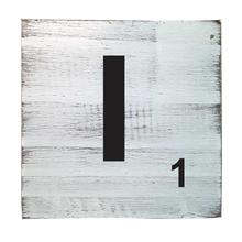 Scrabble Tile - I