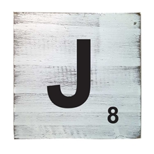 Scrabble Tile - J