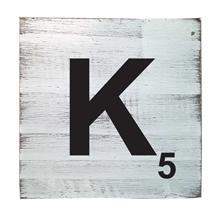 Scrabble Tile - K