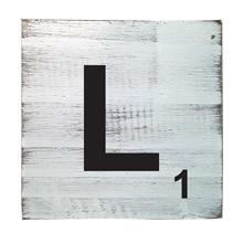 Scrabble Tile - L