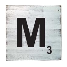 Scrabble Tile - M
