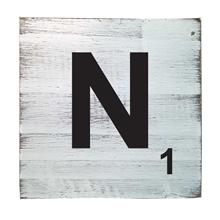 Scrabble Tile - N
