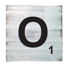Scrabble Tile - O