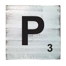 Scrabble Tile - P