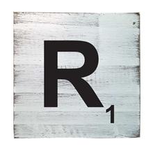 Scrabble Tile - R