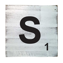 Scrabble Tile - S