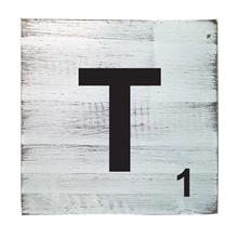 Scrabble Tile - T