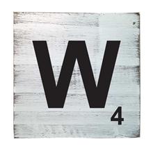 Scrabble Tile - W