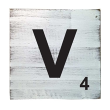 Scrabble Tile - V