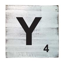 Scrabble Tile - Y