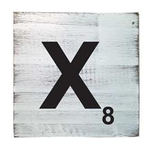 Scrabble Tile - X