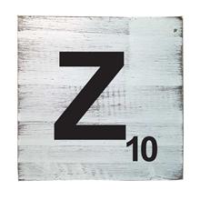 Scrabble Tile - Z