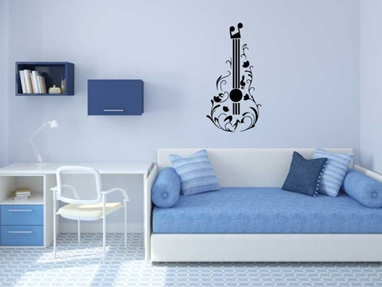 Guitar Vinyl Wall Art
