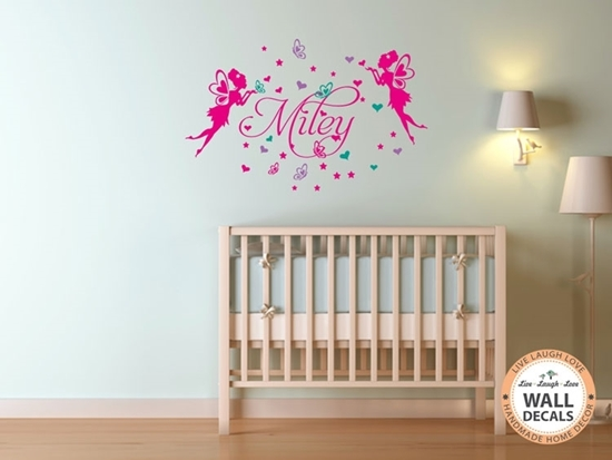 Fairies Vinyl Wall Art