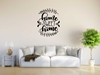 Home Sweet Home Vinyl Wall Art