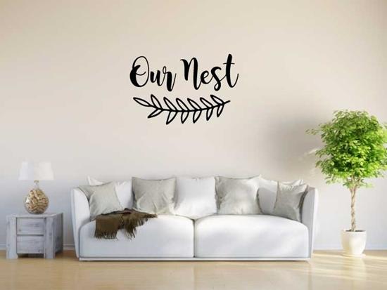 Our Nest Vinyl Wall Art