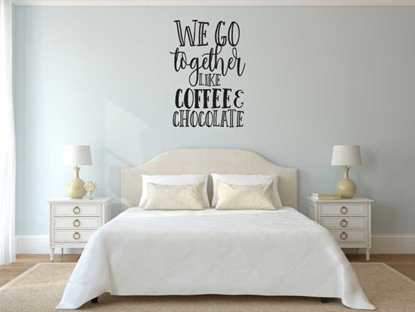 We Go Together Vinyl Wall Art