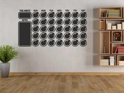 Calendar - Chalkboard Vinyl Wall Art