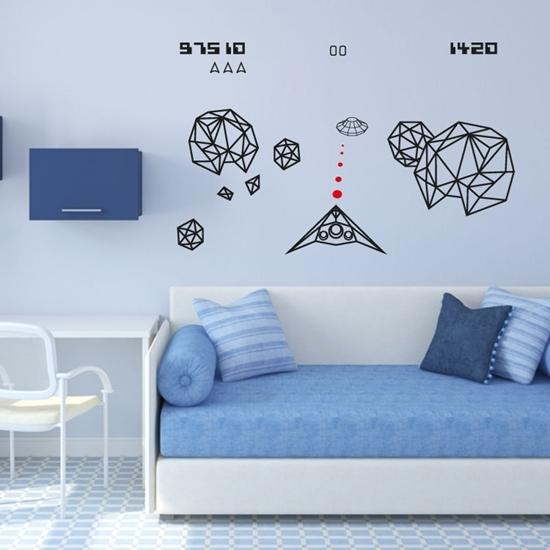 Space Invaders Vinyl Wall Art