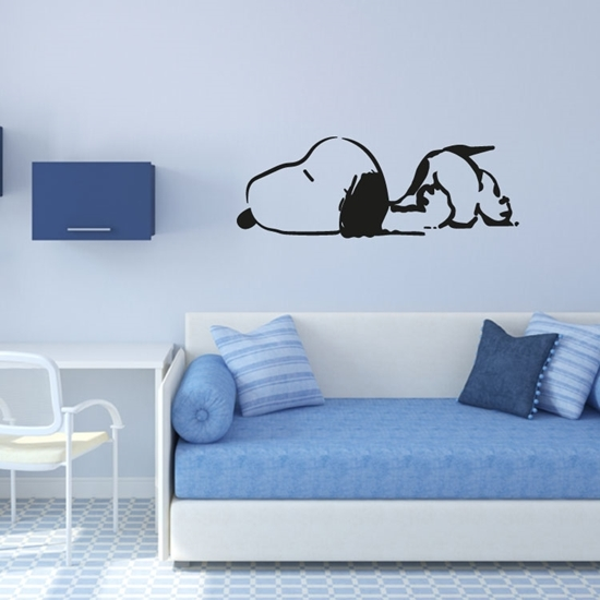 Snoopy Vinyl Wall Art