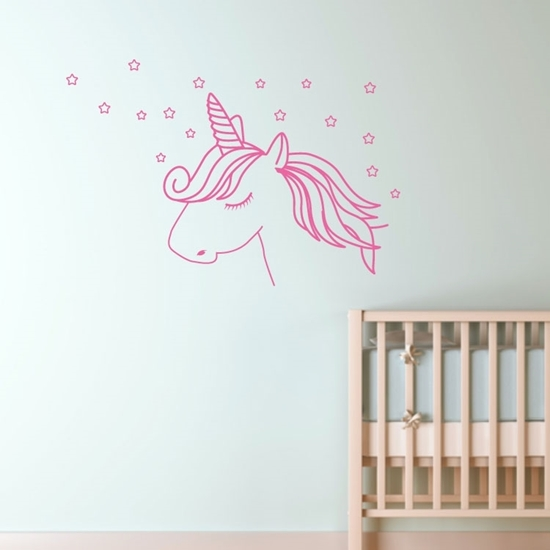 Unicorn Vinyl Wall Art