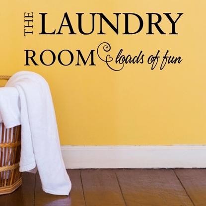 The Laundry Room Vinyl Wall Art
