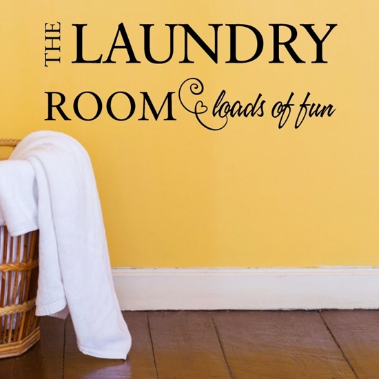 The Laundry Room Vinyl Wall Art