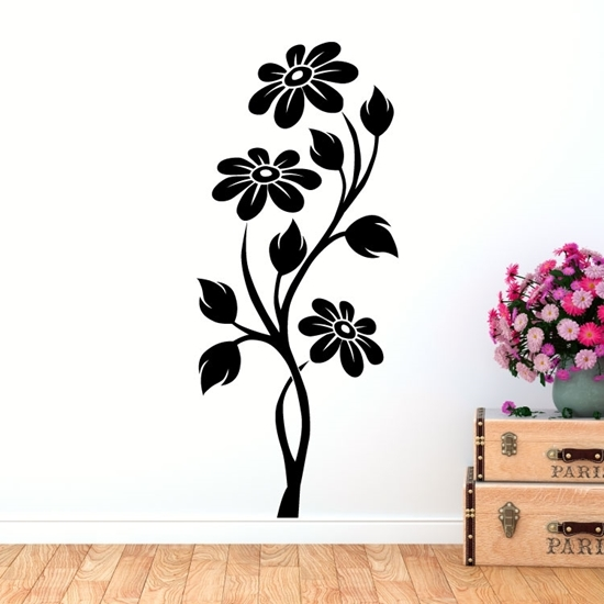 Flower  Vinyl Wall Art