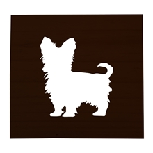 Yorkie Stained Scrabble Tile